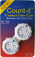 Count-it Contact Lens Case